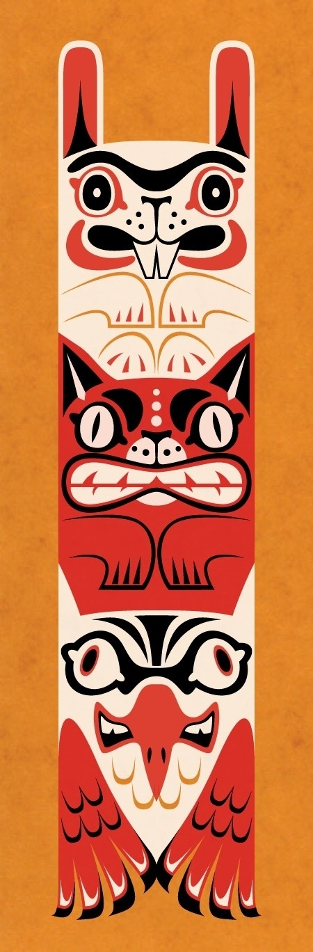 totem pole design template - 12 best images about native american heritage on pinterest