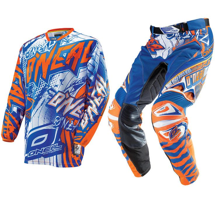 Oneal Hardwear 2014 Automatic Blue-Orange Motocross Kit  Description: The Oneal Hardwear 2014 Automatic Blue/Orange Motocross Kit       is packed with features..              JERSEY SPECIFICATION                      Sublimated No-Fade Graphic – Looking new, ride after ride                    High Quality Moisture Wicking Materials – Sweat...  http://bikesdirect.org.uk/oneal-hardwear-2014-automatic-blue-orange-motocross-kit-16/