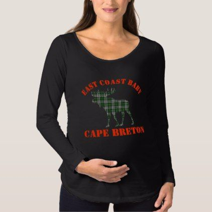 #East Coast Baby moose  Cape Breton maternity shirt - #Xmas #ChristmasEve Christmas Eve #Christmas #merry #xmas #family #kids #gifts #holidays #Santa
