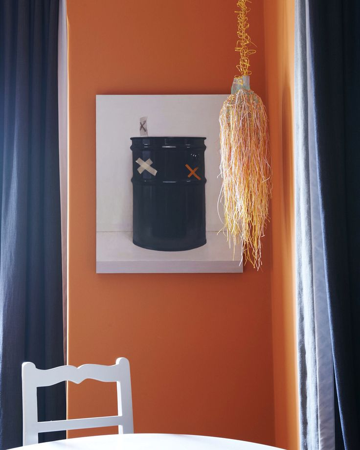 From Colour Collection 15 we are delighted to bring you Lhasa, an exotic burnt orange. Handmade by us!