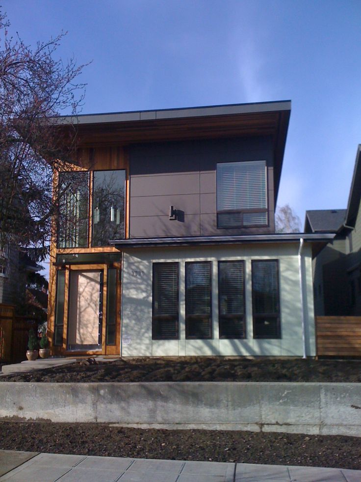 17 best images about siding on pinterest corrugated for Modern house siding