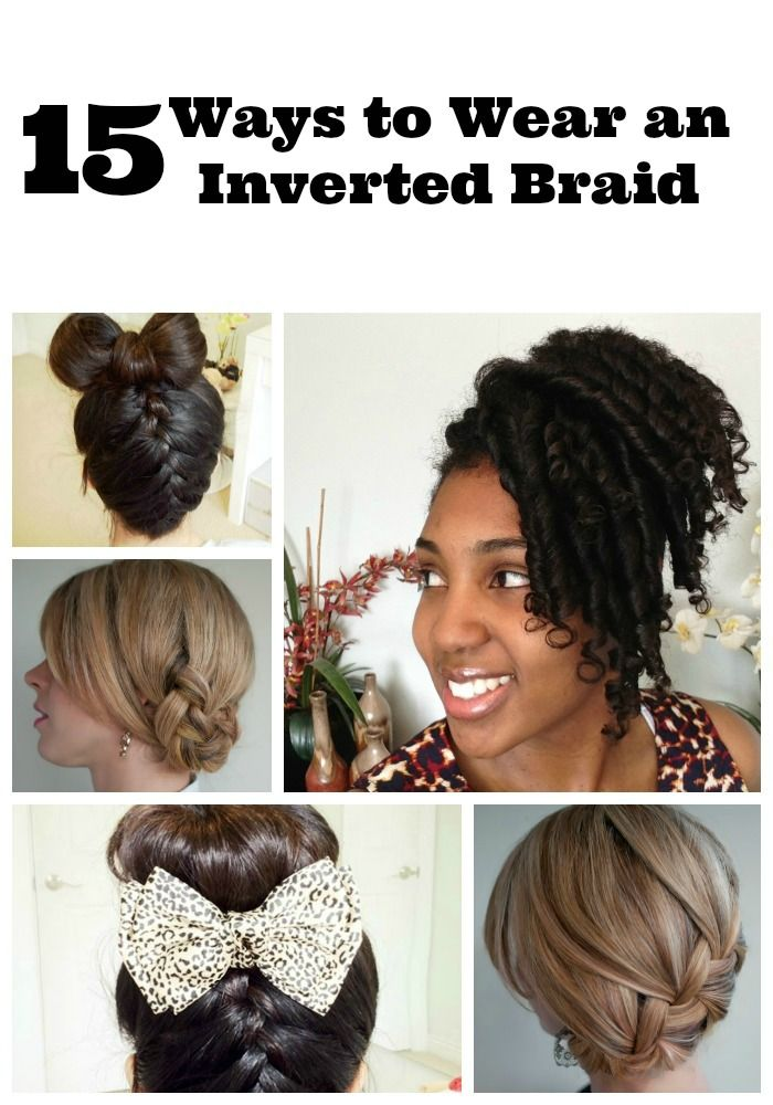 Get creative! Check out these 15 ways to wear an inverted braid for summer. Keep your hair looking cute in the heat and humidity!