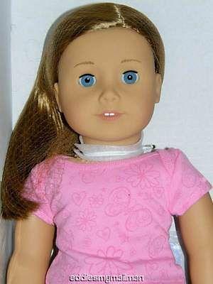 American Girl Doll Caramel Blonde Hair+Blue Eyes 39 NIB ...