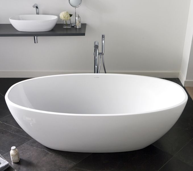 Victoria & Albert Barcelona Freestanding Bath Designed to compliment the Barcelona 64 Above Counter Basin
