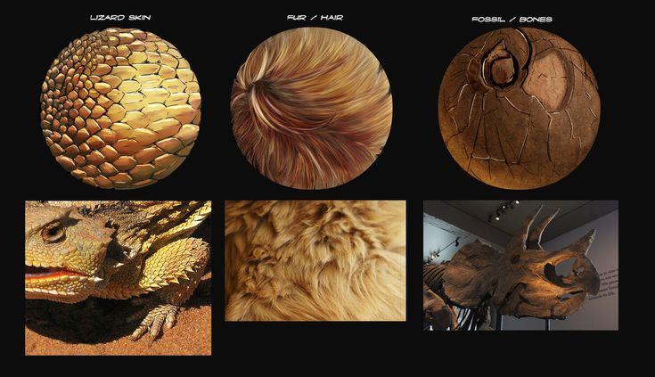 2D - Practice Sphere Texture by seantriana