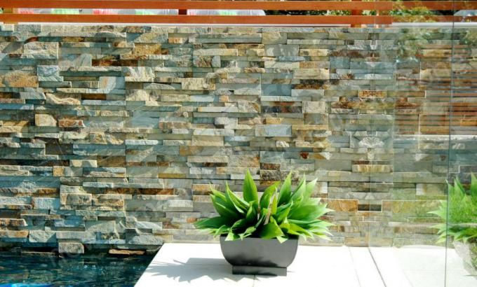 Norstone Stacked Stone Rock Panels for Pools