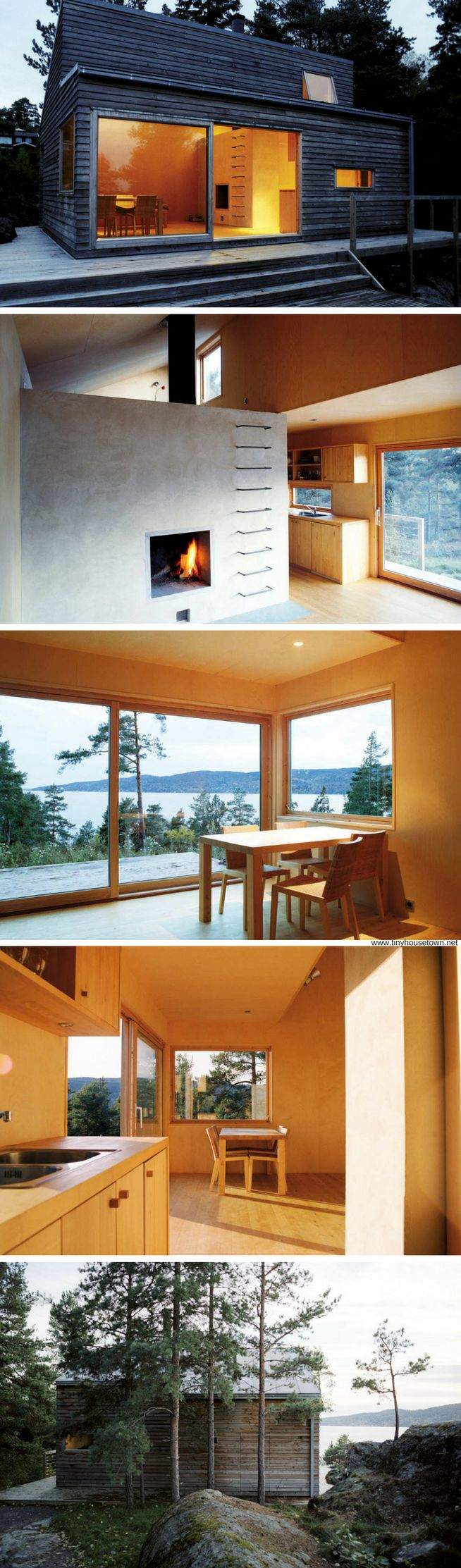 Woody35: a 377 sq ft cabin in Norway