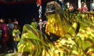 seni: Seni tradisional Indonesia , barongan
