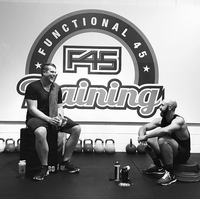 Couple of my good mates who have joined in on the @f45_training_newmarket journey. Great to see them kick ass and get results. Follow @jahebbarnett & jahebbarnett.com for more men's fashion inspiration