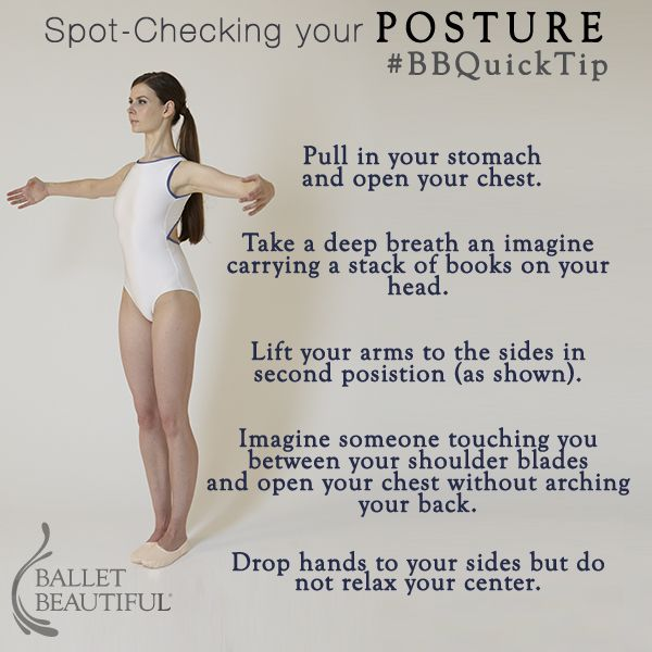 #BBQuickTip Posture spot-checking   My posture is terrible. I really needed this.