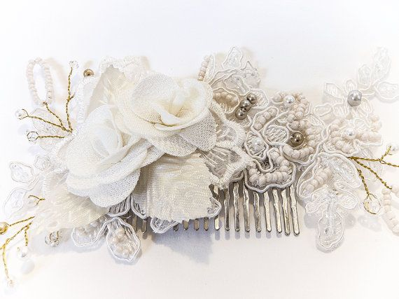 Delphine Hair Comb by MoiBespoke on Etsy