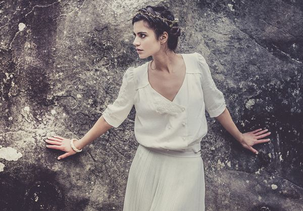Laure de Sagazan 2013 Bridal Collection   Read More - http://onefabday.com/laure-de-sagazan-wedding-dresses/