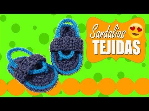 Sandalias Huaraches tejidos a crochet     Paso a paso - YouTube