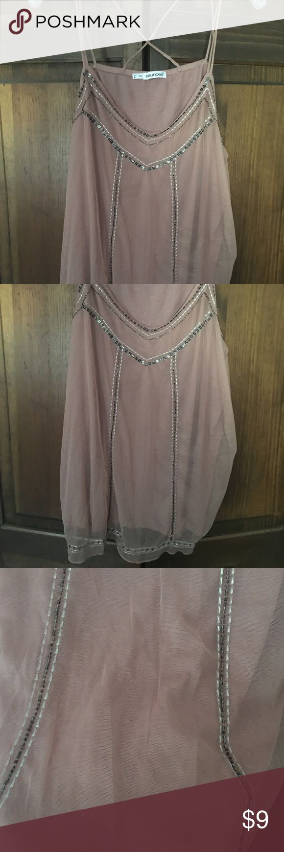 Maurice's pale pink cami top size 2 plus size Worn once! Comes from clean non smoking home! Maurices Tops Camisoles