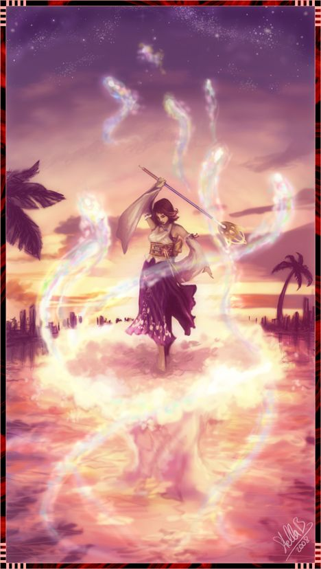 The Sending by ~StellaB  -- Probably the single most powerful moment in Final Fantasy X