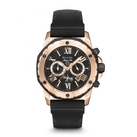 Reloj Bulova Caucho Oro rosa Modelo 98B104