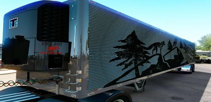 Ats Dorsey 48ft Refrigerator V2 1 39 X American Truck Simulator Semi Trailer Simulation