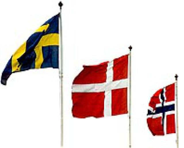 What Documents are Required to Visit Sweden?: Scandinavian Flags