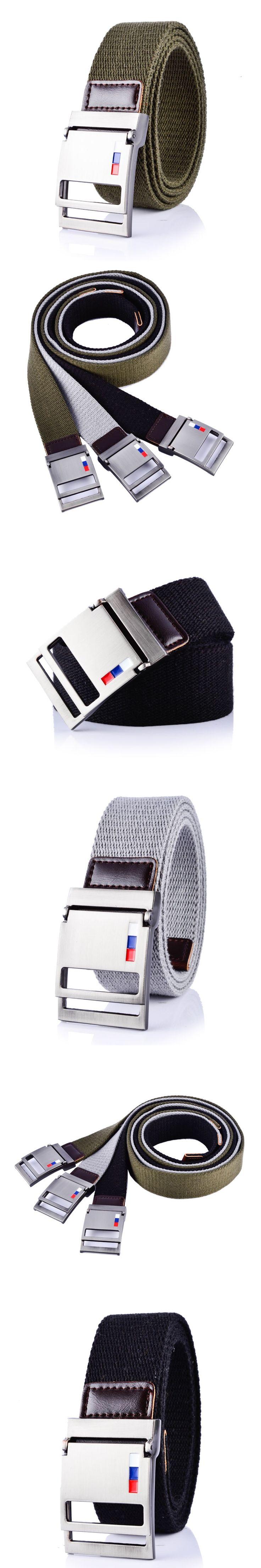 Tactical canvas belt unisex buckle mens belts luxury designer belts men high quality cowboy cinturon hombre ceinture homme cinto