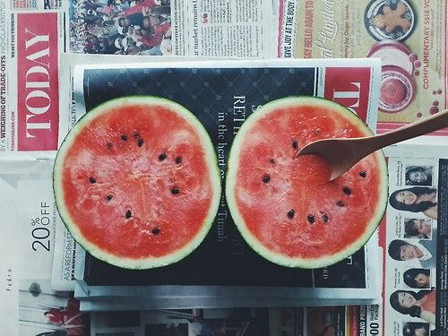 double watermelon