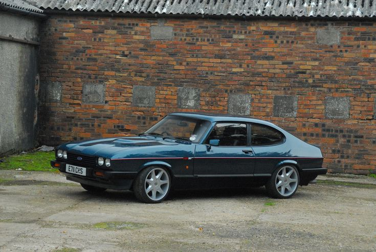 "Ford Capri 280 Turbo Technics - 17"" Diamon Cuts"