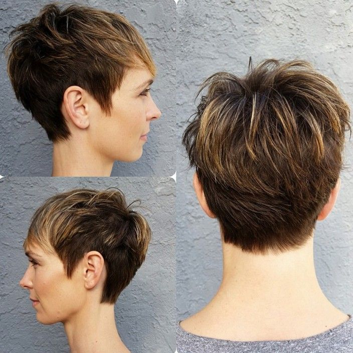 18 Simple Easy Short Pixie Cuts for Oval Faces - Short ...
