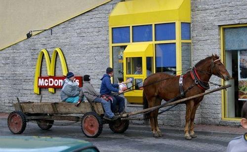 Fast Food/Slow Vehicle, Romania