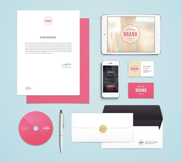 Free Branding / Identity MockUp Vol.4