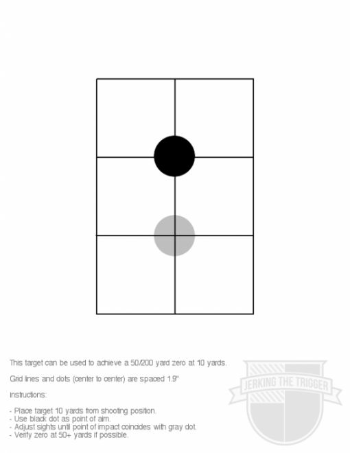 City Slickers Pay Attention: Zero for 50/200 Yards at 10 - The Firearm BlogThe Firearm Blog
