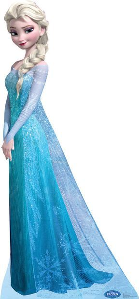 Disney Frozen Snow Queen Elsa Standup Includes: (1) cardboard 6'H character standup. Adult assembly required. Standard Ground shipping only. Street address required for delivery. No APO, FPO or PO Box