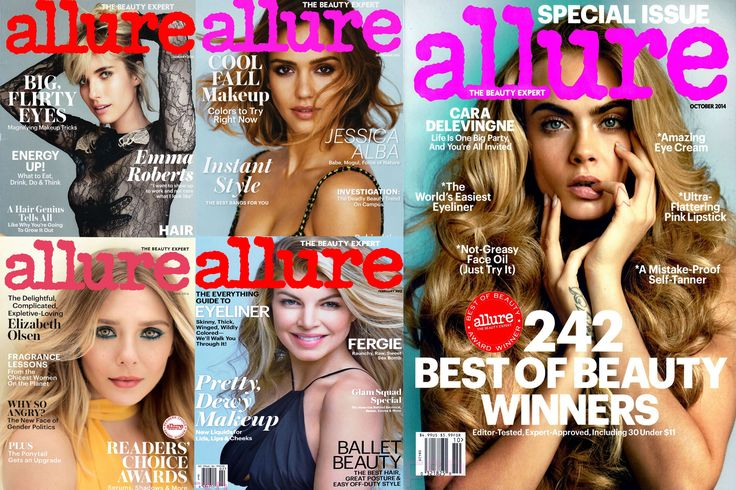 Despite the digital era, magazines continue to be a loved item. There's something about the smell of a just printed magazine, the flipping through the pages, the folding of the page corner when you want to investigate further that miracle eye cream (oh, that's just me?).  When it comes to the beauty world, there are several inspirational, real, up to date, trendy magazines. But there's one that has conquered the beauty world like no other.  Allure magazine has been around for several years…