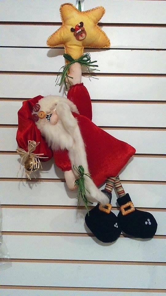 Santa escalando