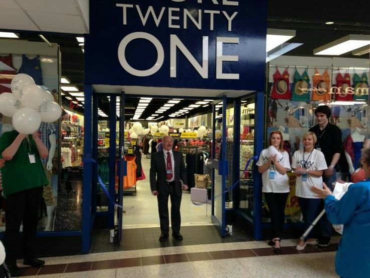 Store Twenty One Glenrothes now open!