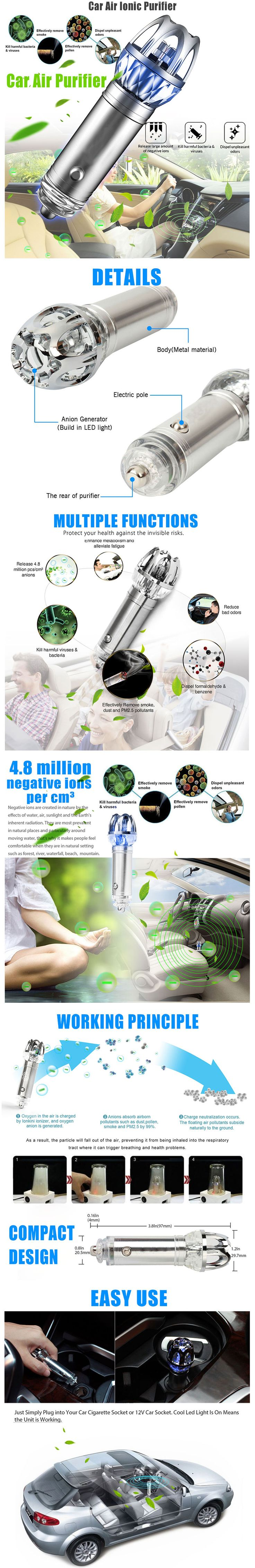 ideias sobre causes of air pollution no mudan atilde sect as 2017 new mini car air ionic purifier innovative ionizer cleaner odor remover