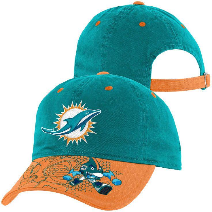 Miami Dolphins Toddler NFL Rush Zone Defense Engage Adjustable Hat - Aqua - $14.39