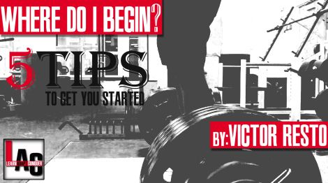 5 Tips to get you started on a training. #start #5tips #howto #fitness #training