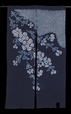 Japanese noren (Door curtains)