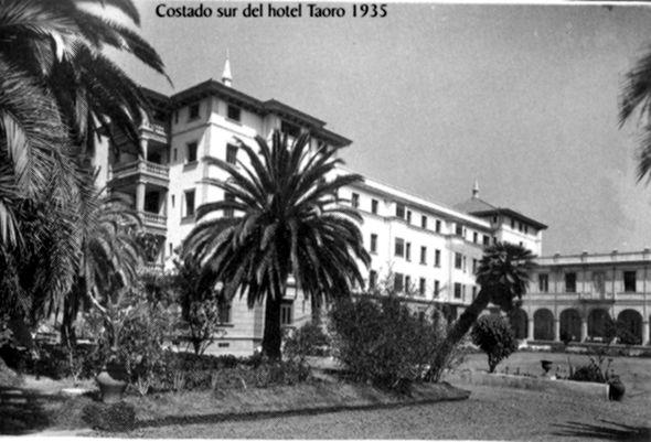 Hotel taoro 1935 parque de taoro puerto de la cruz - Hotel la garriga de castelladral ...