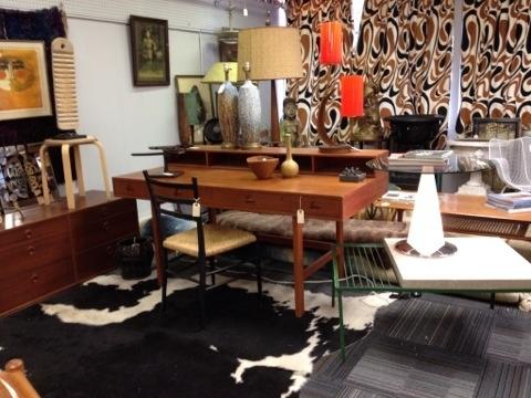 Mid-century designer desk, and lots more!