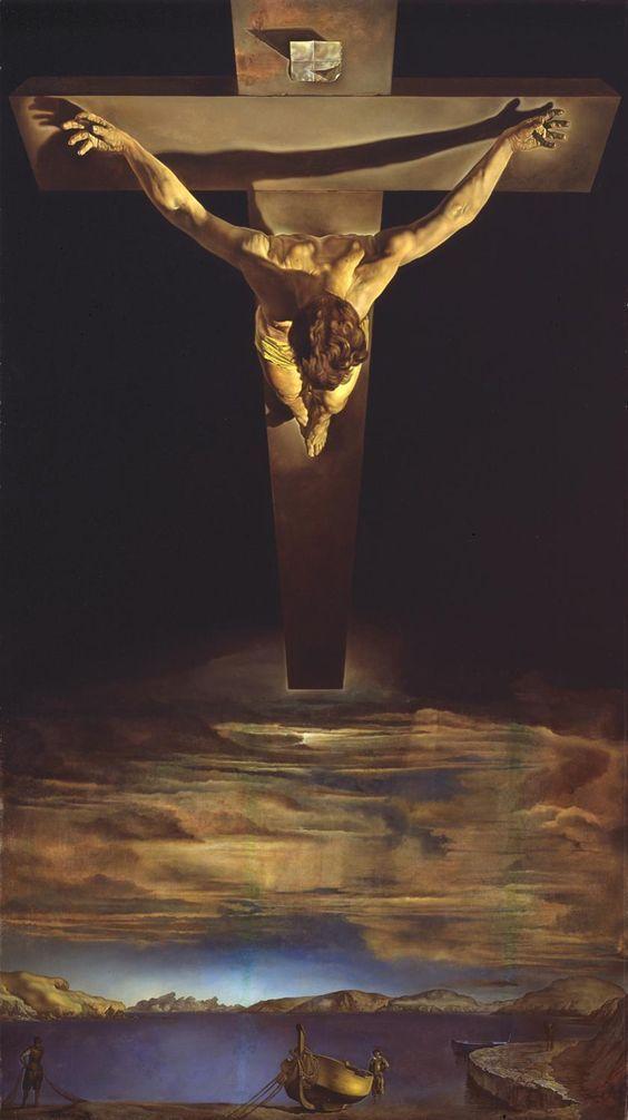 Cristo de San Juan de la Cruz. 1951-Dali