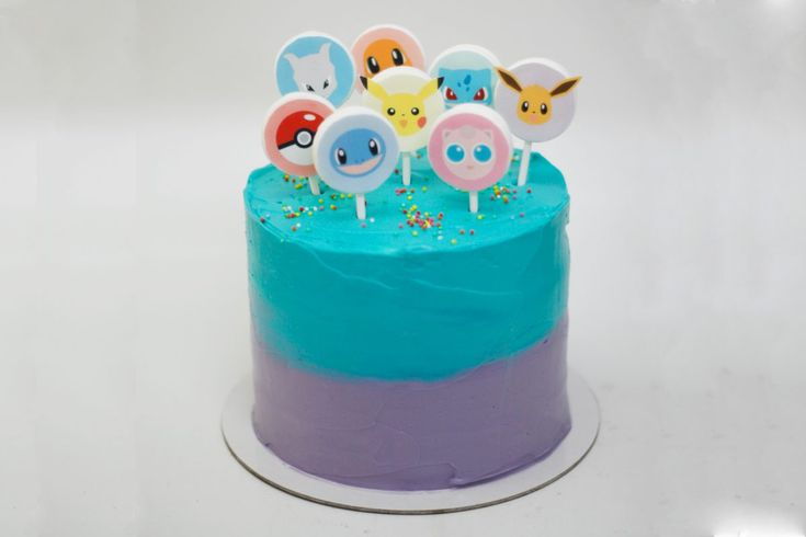 cute pokemon cake