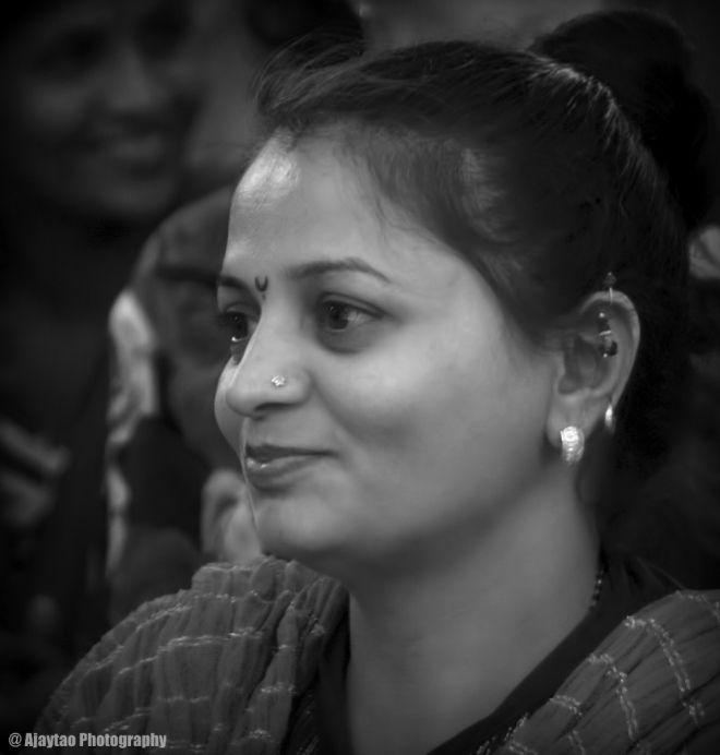 Looking delighted - Ajaytao