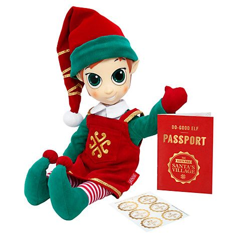 Buy Portable North Pole Girl Elf Online at johnlewis.com