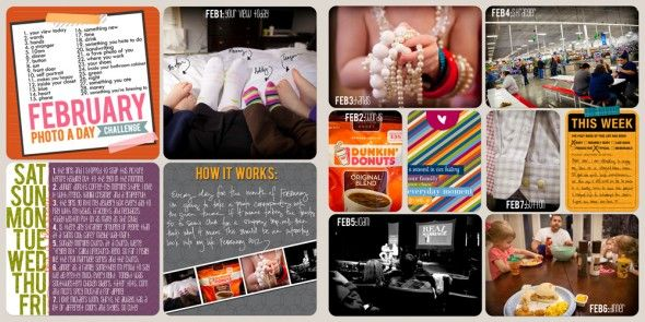Great idea to take photos of details - the feet, the juwelery...Layout Ideas, Feb Photos A Day, Scrapbookproject Life, Life Layout, Scrapbook Projects, February Photos, Life Ideas, Projects Life, Photoshopdigit Scrapbook