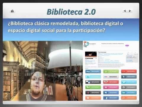 """Conferencia: """"Bibliotecas y Bibliotecarios 2.0"""" Parte 1"""