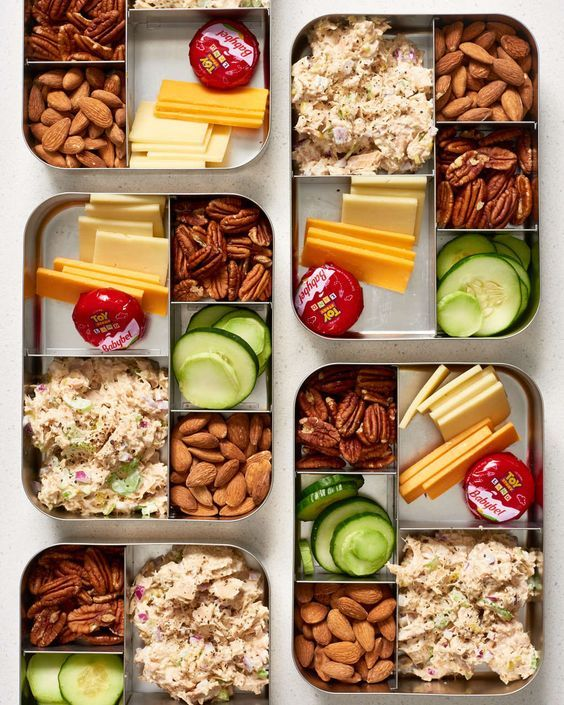 LunchBots Cinco Stainless Steel 5 Compartment Bento Box in 2019 | Meal Prep | Keto, Keto snacks ...