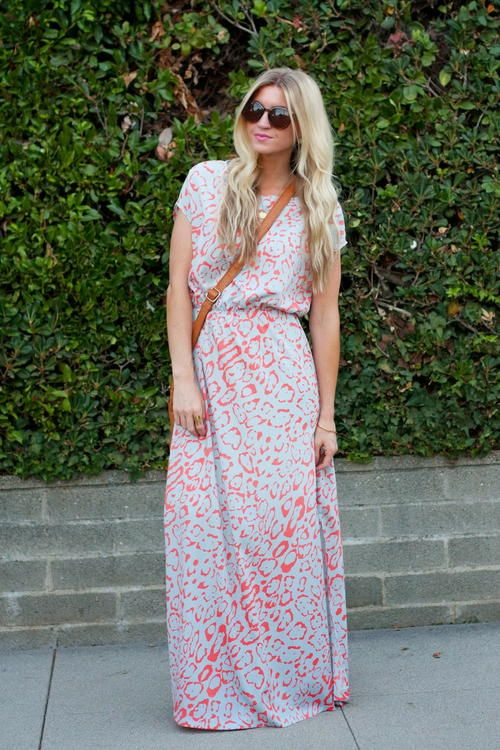 Side Slit DIY Maxi Dress | AllFreeSewing.com