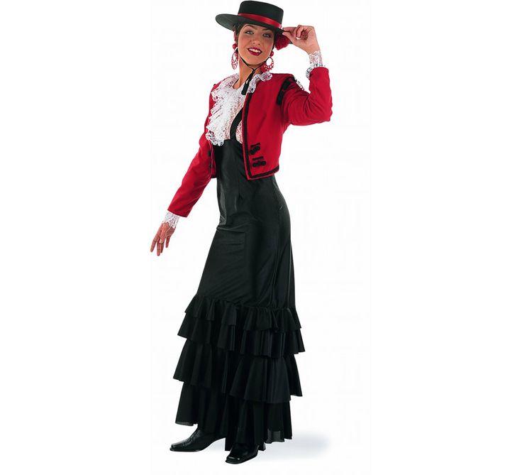 Disfraz de Flamenca Rosa para chicas talla S | Disfrazzes | Tienda de disfraces online