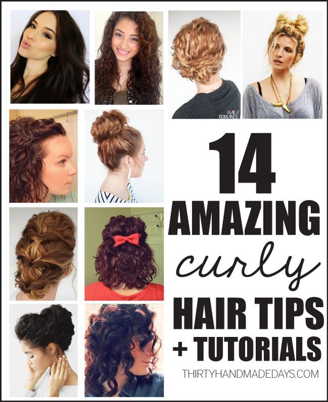 14 Amazing Curly Hair Tips Tutorials Curly Tutorials