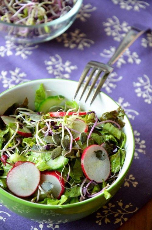Retekcsírás-tökmagos saláta
